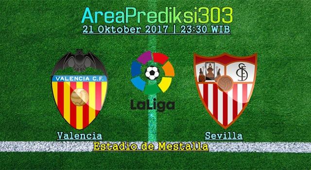Prediksi Jitu Valencia vs Sevilla 21 Oktober 2017