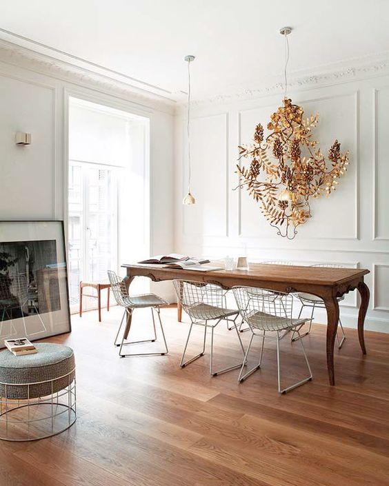 Muebles de comedor comedores con mesas clasicas y sillas for Sillas clasicas modernas