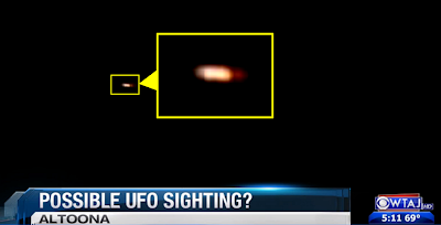 Residents Claim UFO Sighting in Altoona
