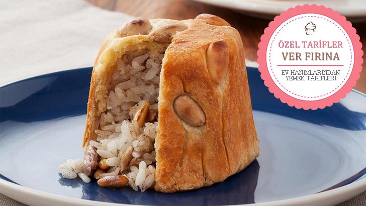 Türk Mutfağının Mükemmel Yemek Tariflerinden Birisi Daha Perde Pilavı Malzemeleri, Tarifi ve Yapılışı.