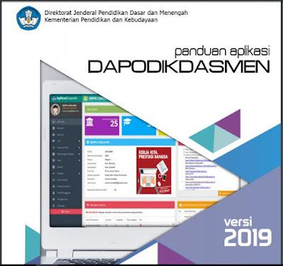 Download Panduan Aplikasi Dapodikdasmen versi 2019, www.librarypendidikan.com