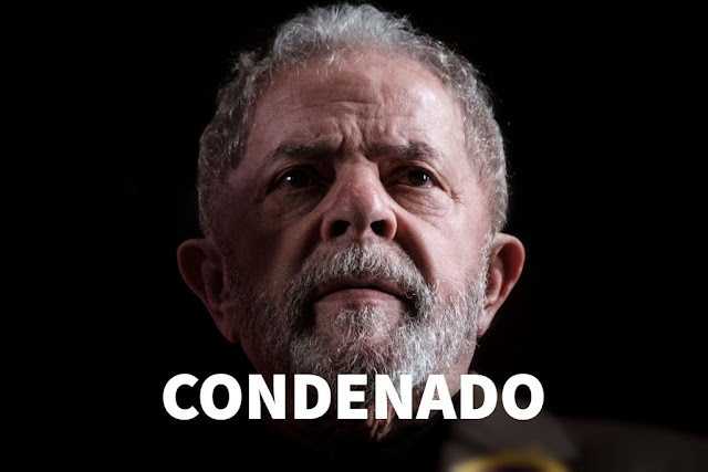 Ex-presidente Lula é condenado a 9 anos e 6 meses de prisão no caso do triplex