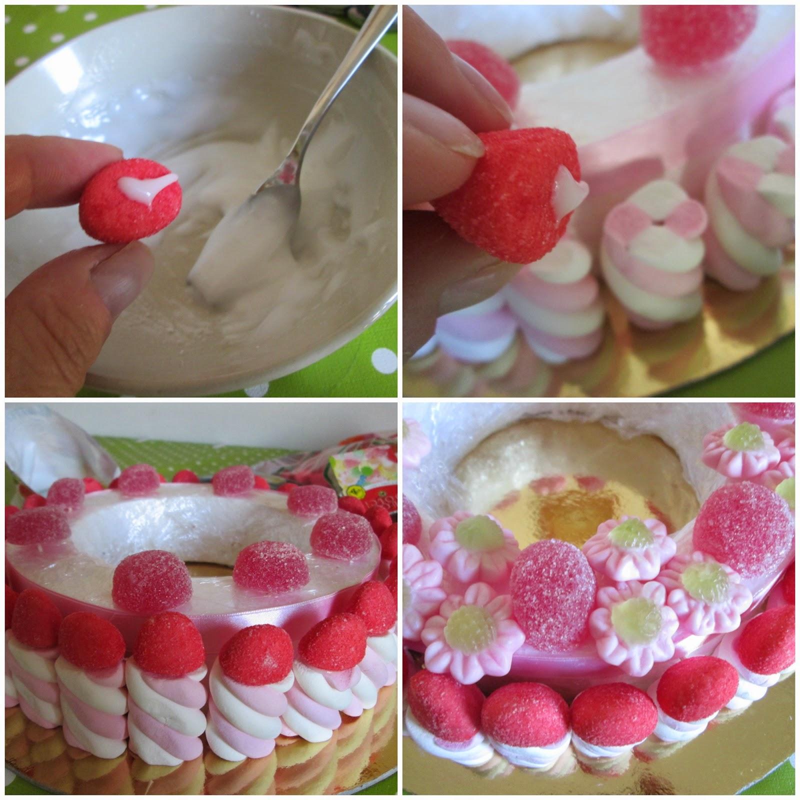 Super Pasticciando in cucina: Torta di caramelle di Peppa Pig GE89