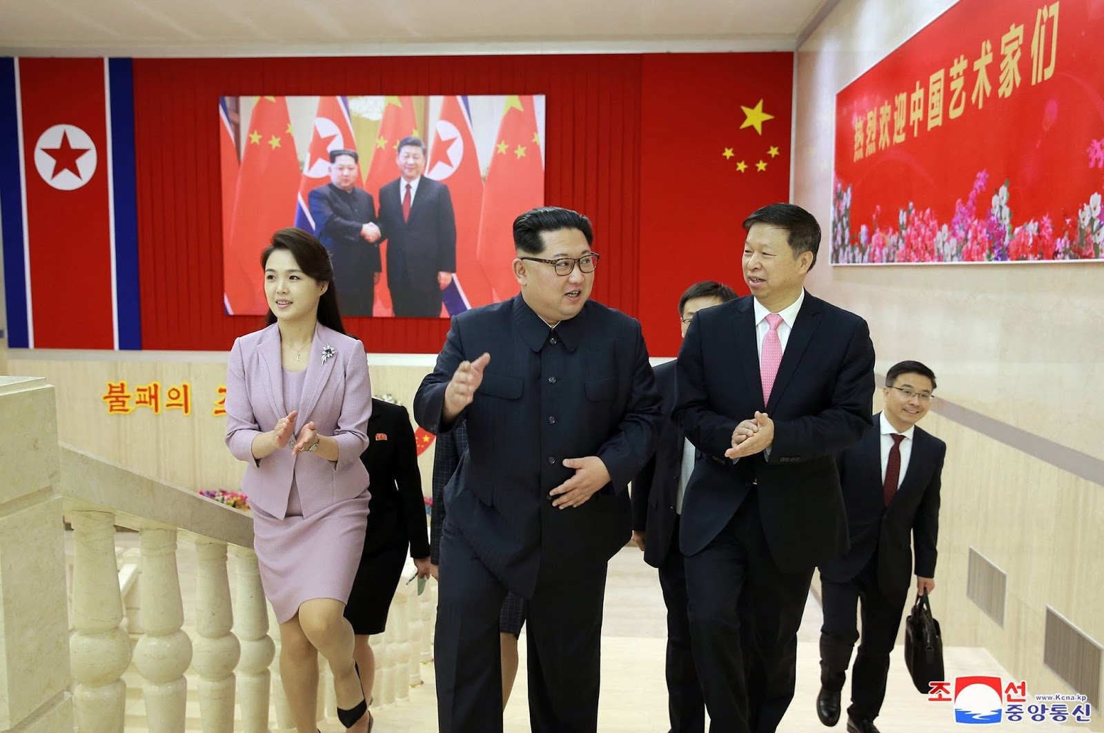 According to the Yonhap News Agency, Kim Jong-un said he did not need test shots and agreed to close the nuclear test facility.