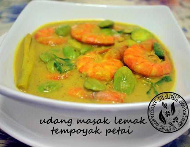 Resepi Udang Masak Lemak Tempoyak Azie Kitchen Resep Masakan Khas
