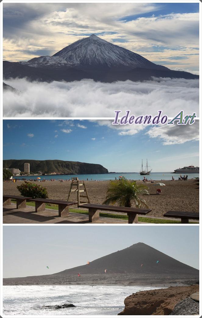Teide y Sur Tenerife