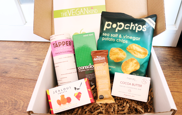 The Vegan Kind Lifestyle Box - May 2016 review