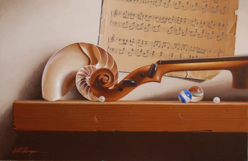 01-Adagio-with-Pearls-Mark-Thompson-Photo-Realistic-Still-Life-Paintings-www-designstack-co