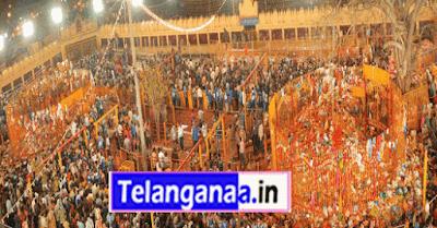 Sammakka Saralamma Temple in Telangana Medaram Jatara