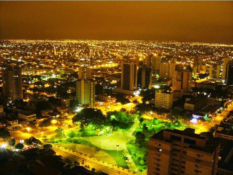 Mato Grosso do Sul a noite
