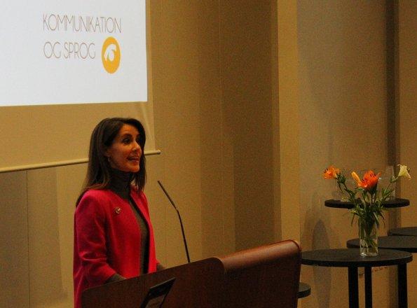 Princess Marie attended Lecturer's Order (Lektoratsordningen) event. wore Paule Ka Blazer, style fashion