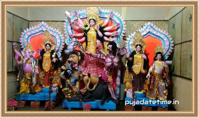 Mitali Sangha Sarbajanin Durga Puja - Kushmandi