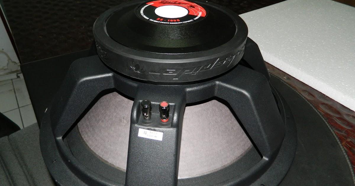 harga speaker black spider 1898  HAZA MUSIK