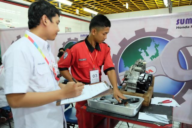 Astra Motor Sumsel Gelar Kontes Mekanik Tingkat SMK