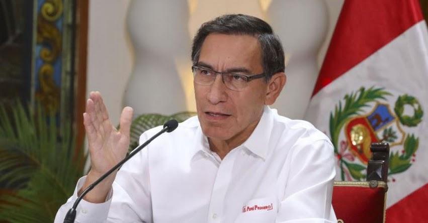 CORONAVIRUS EN PERÚ: Presidente Vizcarra confirma 395 contagiados en el país