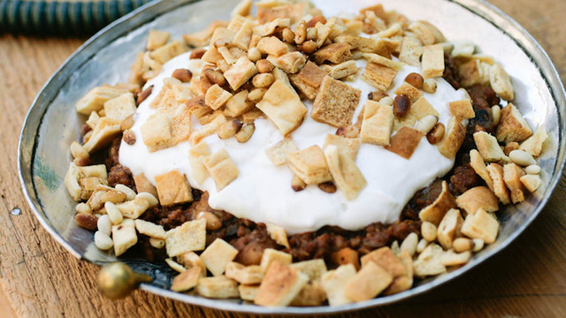 in Arabic and this is the idea behind this dish Fatteh al-betenjane (Eggplant Casserole) Recipe