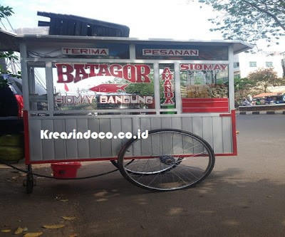 Harga Gerobak Siomay Bandung Dorong