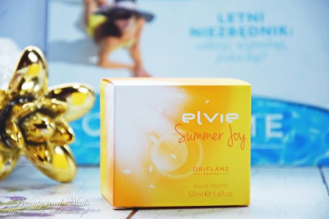 ELVIE SUMMER JOY, idealny zapach na wakacje i biała torebka od Oriflame.