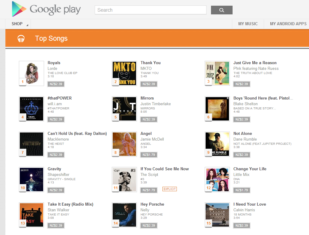 can i upload my music to google play music