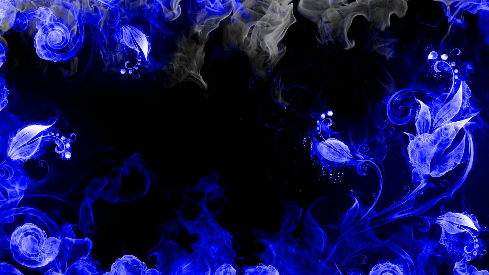 Desktop wallpapers Fire flower.