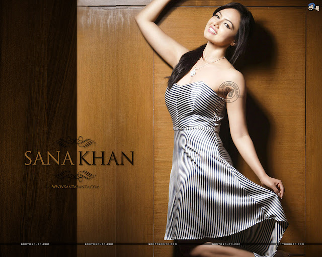 Sana Khan HD Wallpapers