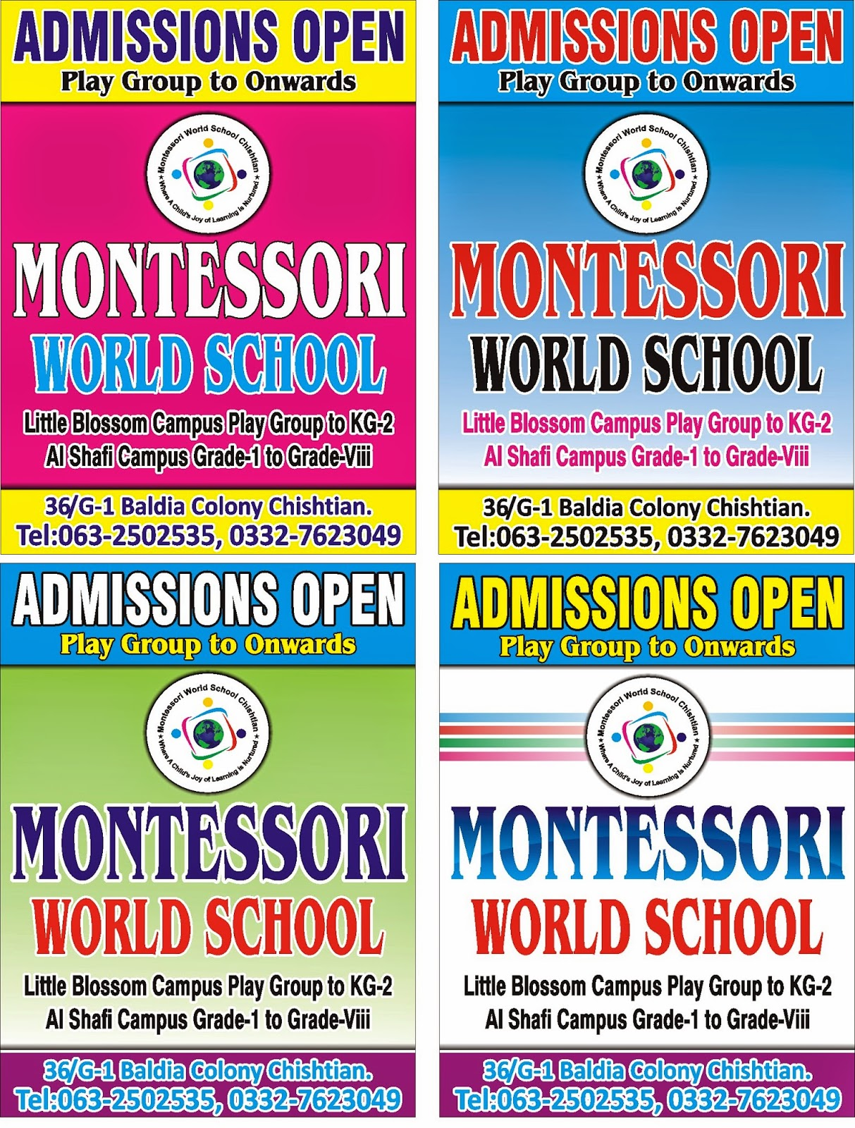 how to open a montessori school in canada