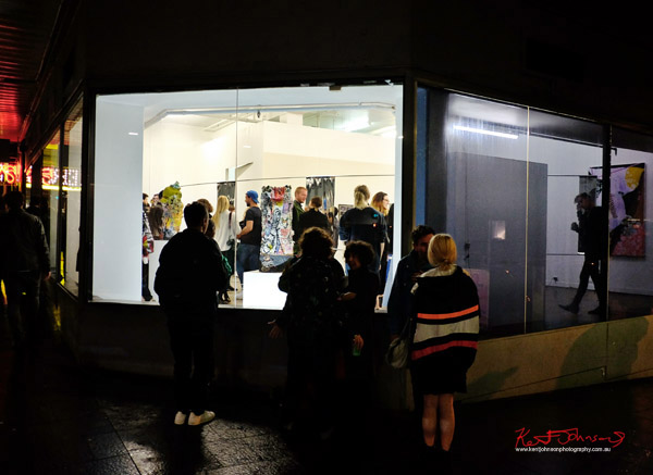 Street view at Alaska Projects - Street Fashion Sydney photographed by Kent Johnson.