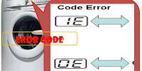 Code Error Pada Mesin Cuci Dan Cara Mengatasinya