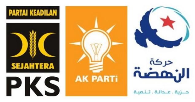 PKS, AKP, dan An Nahdhoh Tunisia