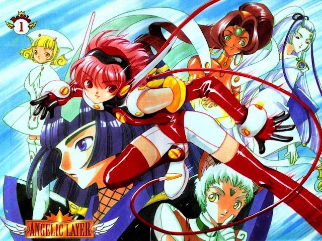 Angelic Layer manga wallpaper
