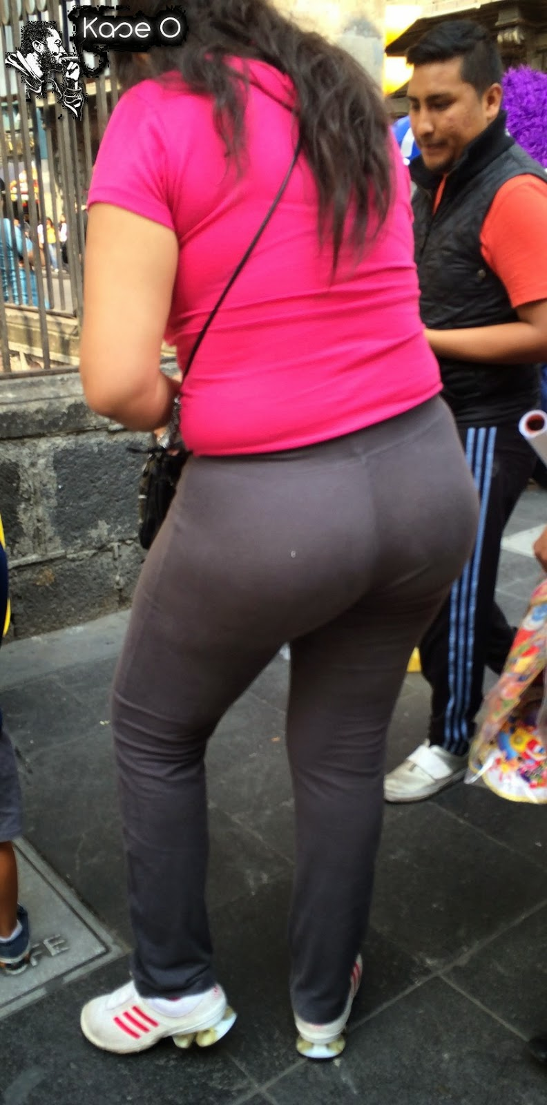 Sexy Girls On The Street, Girls In Jeans, Spandex And -1491