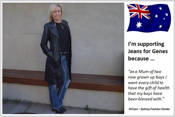 Sydney Fashion Hunter - Fashion Bloggers For Jeans For Genes - Sydney Fashion Hunter - Australia