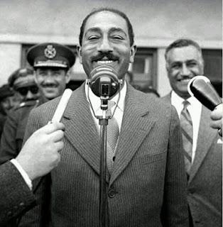 Abdel Hakim Amer , Anwar Sadat and Nasser