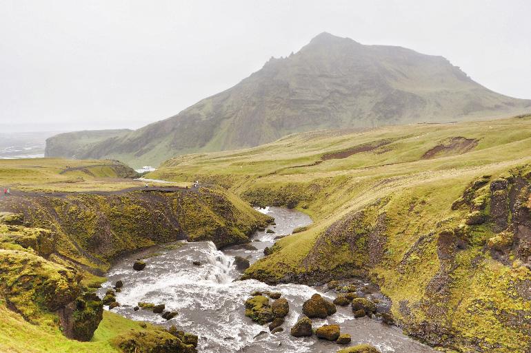 Cascade Skogafoss en Islande