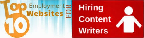 websites hiring writers