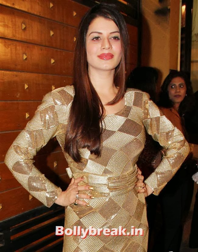 Kainaat Arora, Filmfare Awards 2014 Red carpet Images