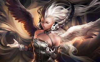 Ilustración de Ángel en video juegos