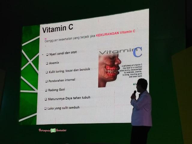 akibat kurang vitamin c