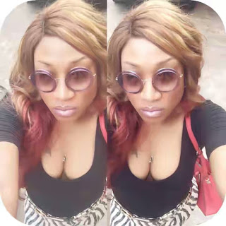 Actress Oge Okoye Wants You To See The Tattoo On Her Bre@st In This Selfie