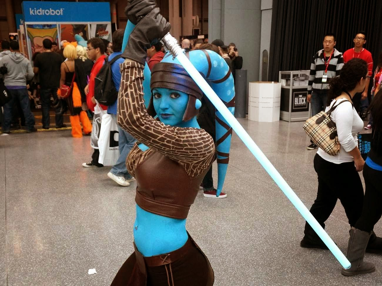 Coolest Hat Ever >> Who is Aayla Secura and is she really the hottest blue alien ever? | In A Far Away Galaxy