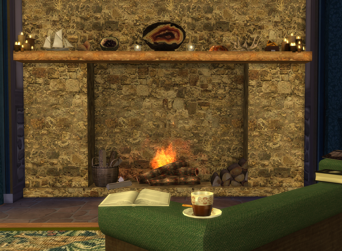 my sims 4 blog fireplaces crystal bowls beehives and more by