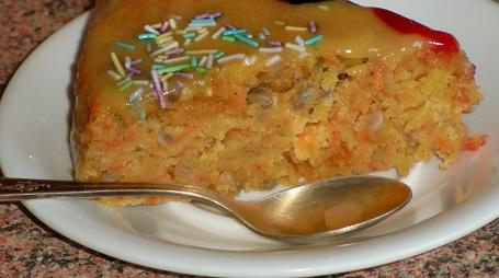 морковный торт пирог
