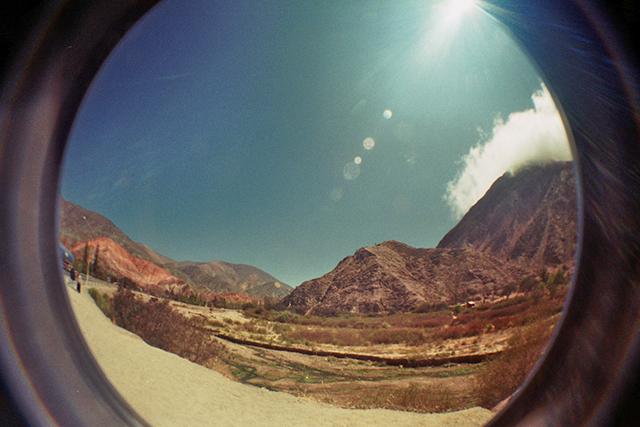 fisheye foto - argentinië