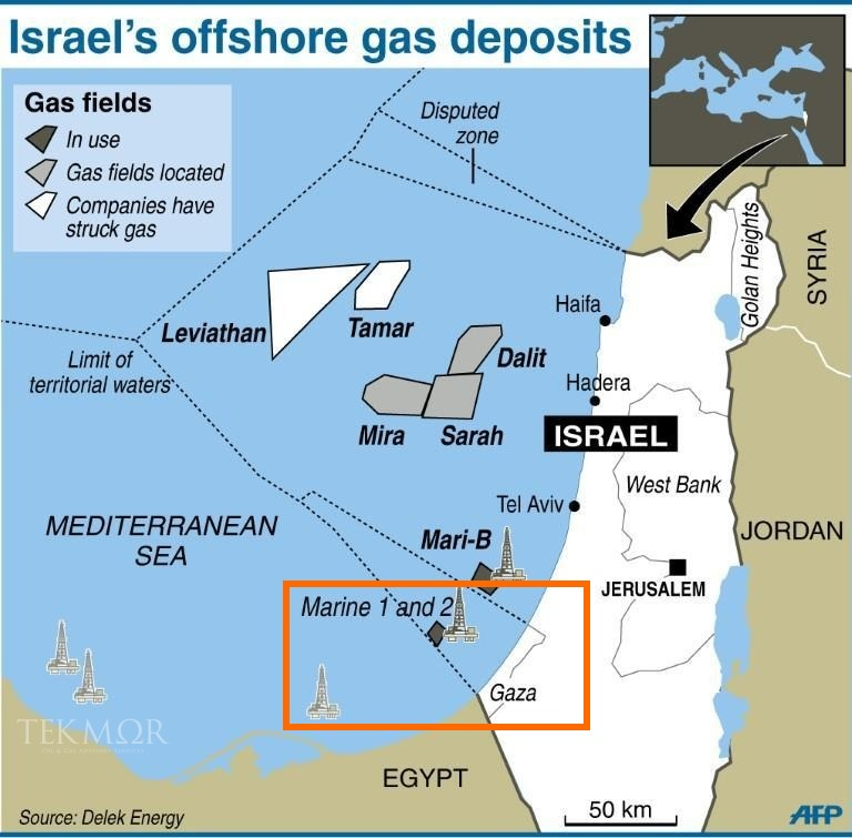 Israel Finds Oil And Natural Gas