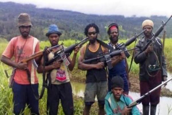 Pos Brimob di Tembagapura Ditembaki