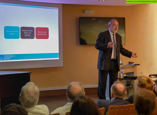 Sanidad presenta la propuesta de actuaciones para la ampliación y reforma del Hospital General de La Palma
