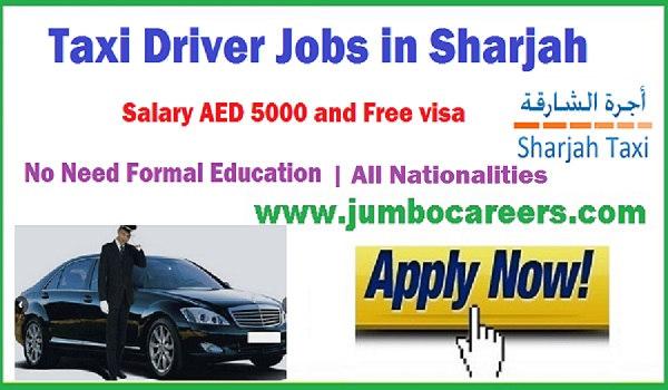 Taxi Driver jobs in UAE, Driver jobs 2018, Driver jobs with free visa