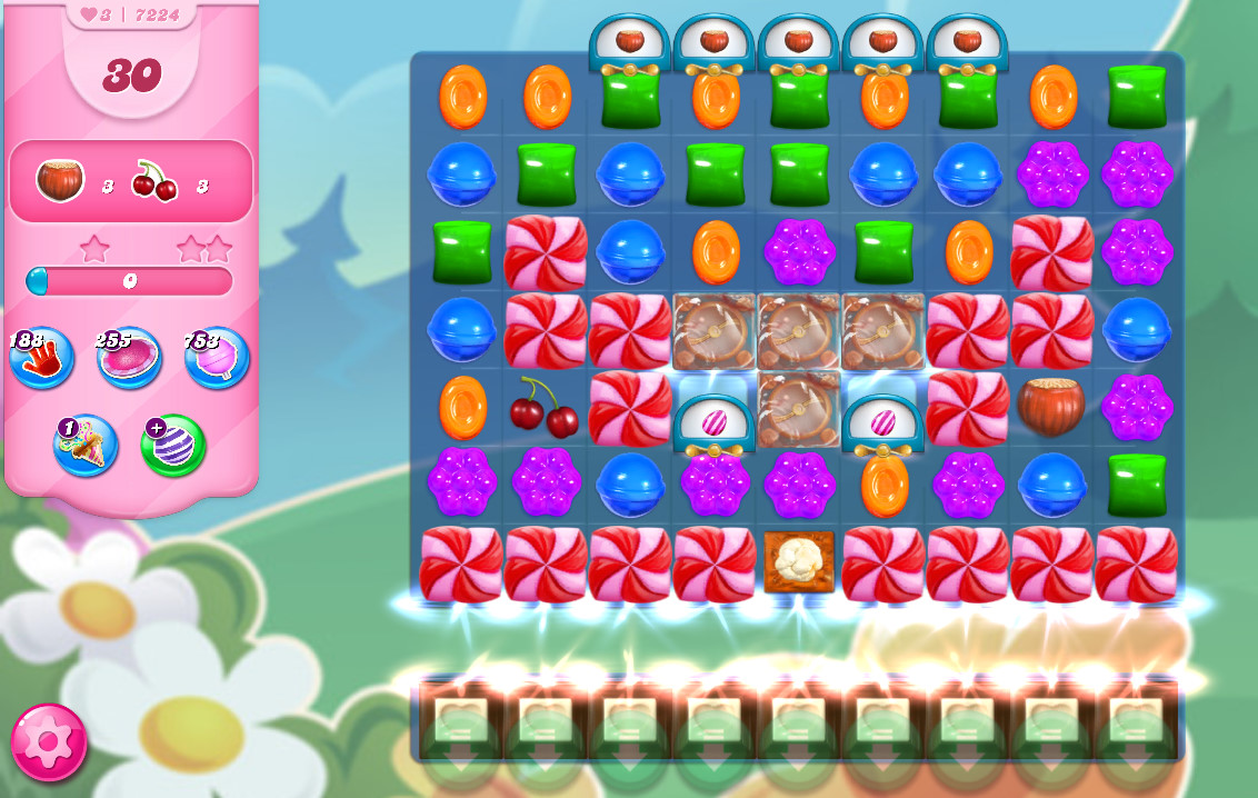 Candy Crush Saga level 7224