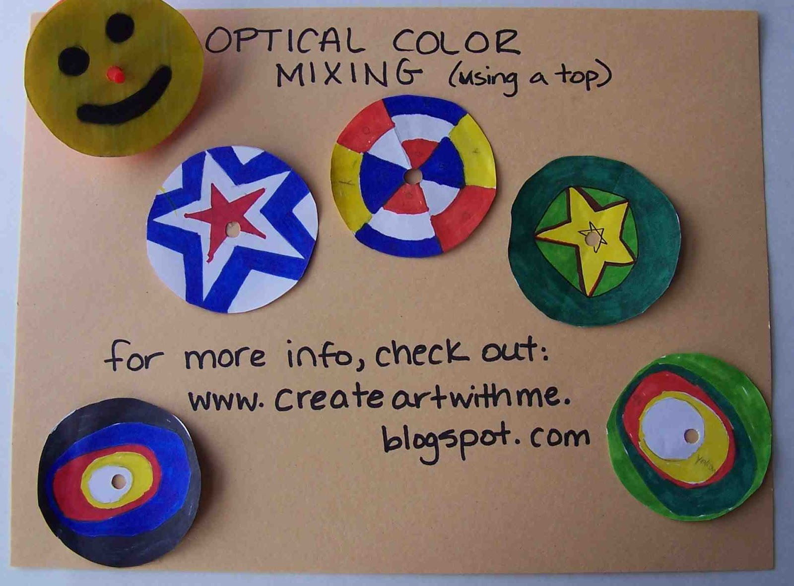 Create Art With Mrs P Optical Color Mixing With A