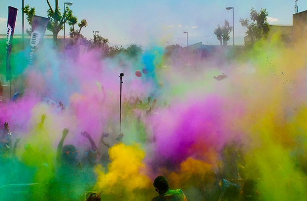 Foto de la carrera Holi Run - Carrera de los colores
